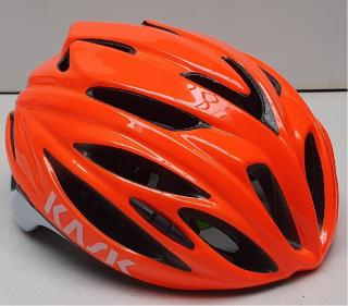 Kask přilba Rapido orange L/59-62cm
