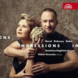 Kateřina Englichová, Vilém Veverka – Impressions / Ravel, Debussy, Sluka: Skladby pro hoboj a harfu