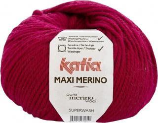 Katia Maxi Merino 24 Ruby Bordeaux