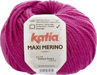 Katia Maxi Merino 27 Dark Fuchsia Pink