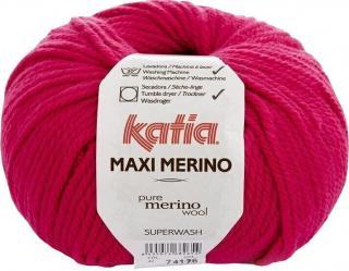 Katia Maxi Merino 42 Fuchsia Pink