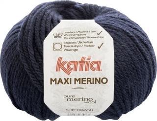 Katia Maxi Merino 5 Dark Blue