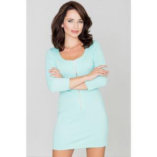 Katrus Womans Dress K104 Mint dámské Green L