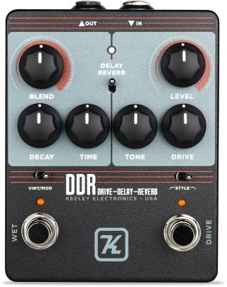 Keeley DDR Drive Delay Reverb Black