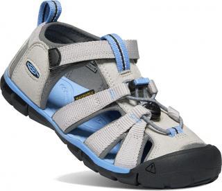 KEEN Dětské sandále SEACAMP II CNX KIDS 1022977 vapor/steel grey 24