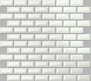 Keramická mozaika Premium Mosaic bílá 30x30 cm lesk MOS2348WH bílá bílá