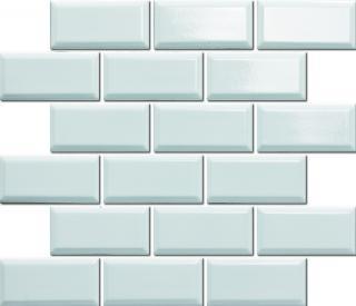 Keramická mozaika Premium Mosaic bílá 30x30 cm lesk MOS4595WH bílá bílá