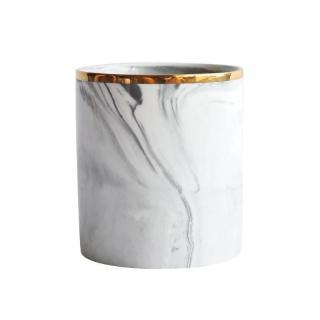 Keramický stojan na kosmetiku Barva: šedá