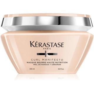 Kérastase Curl Manifesto Masque Beurre Haute Nutrition vyživující maska pro vlnité a kudrnaté vlasy 200 ml dámské 200 ml