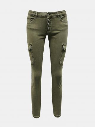 Khaki kalhoty ONLY Marya - S dámské S