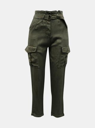 Khaki kalhoty s kapsami TALLY WEiJL dámské S