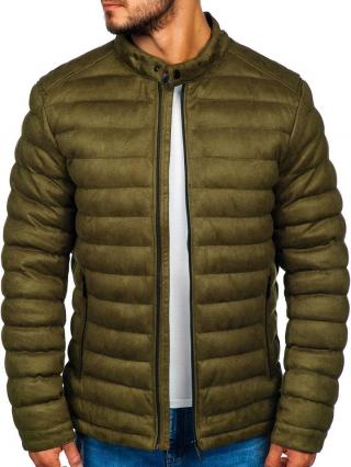 Khaki pánská zimní bunda Bolf 5586 M