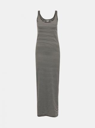 Khaki striped basic maxisat VERO MODA dámské XS