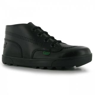 Kickers Disley Hi Junior Boots černá | Black | Other UK 3