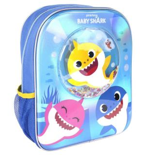 KIDS BACKPACK CONFETTI BABY SHARK Other One size