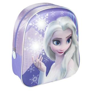 KIDS BACKPACK LIGHTS 3D FROZEN II Other One size