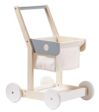 KIDS CONCEPT Nákupní vozík dřevěný Bistro