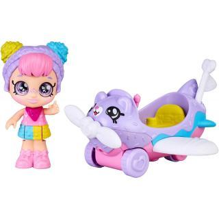 Kindi Kids Mini Rainbow Kate letadlo dámské