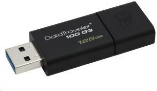 Kingston 128GB DataTraveler DT100 Gen 3  Black