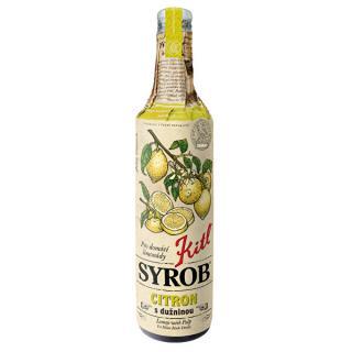 Kitl Kitl Syrob Citron s dužinou 500 ml