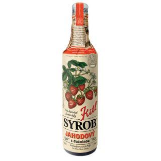 Kitl Kitl Syrob Jahodový s dužinou 500 ml