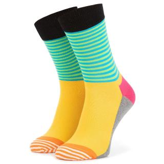 Klasické ponožky Unisex HAPPY SOCKS - HAS01-9700 Barevná 36/40