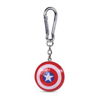 Klíčenka 3D Kapitán Amerika