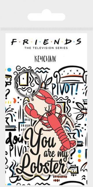 Klíčenka gumová, Přátelé - You are my lobster