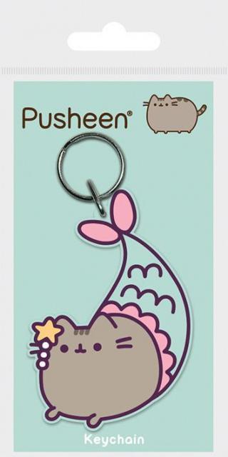 Klíčenka gumová, Pusheen