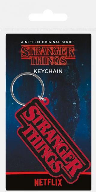 Klíčenka gumová, Stranger Things - logo