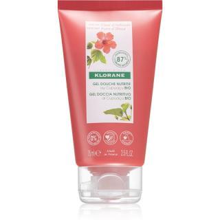 Klorane Cupuaçu Květy ibišku vyživující sprchový gel 75 ml dámské 75 ml