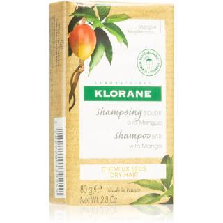Klorane Mango tuhý šampon pro výživu a lesk 80 g dámské 80 g