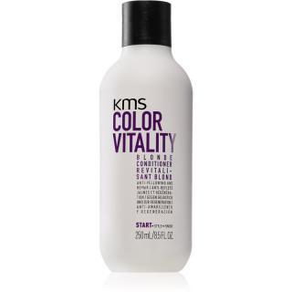 KMS California Color Vitality kondicionér pro blond a melírované vlasy 250 ml dámské 250 ml