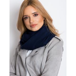 Knitted navy blue neck warmer dámské Neurčeno One size
