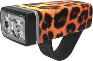 Knog Pop II Front Leopard Orange