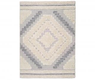 Koberec Cheroky Rhombus 115x170 cm Bílá 115x170 cm