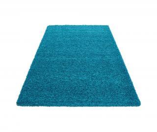Koberec Life Turquoise 80x150 cm Modrá 80x150 cm