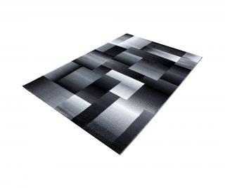 Koberec Miami Black 80x150 cm Černá 80x150 cm