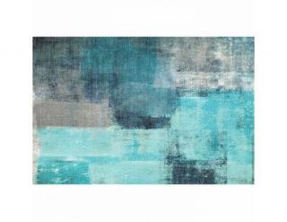 Koberec, modrošedá, 80x150, ESMARINA TYP 2 modrá