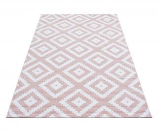 Koberec Plus Diamond Pink 160x230 cm Ružová 160x230 cm