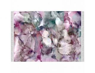 Koberec, růžová / zelená / krémová / vzor, 120x180, DELILA krémová-Béžová-růžová-zelená
