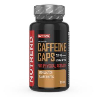 Kofeinový Stimulant Nutrend Caffeine Caps, 60 Kapslí