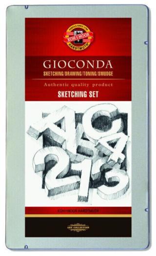 KOH-I-NOOR Gioconda Professional Sketching Set Mix
