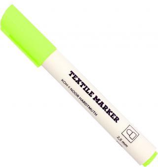 KOH-I-NOOR Textile Marker Fluo Green