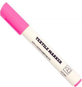 KOH-I-NOOR Textile Marker Fluo Pink