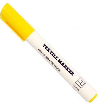 KOH-I-NOOR Textile Marker Yellow