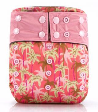 Kojenecké plavky v růžové barvě - 2 varianty Varianta: 1