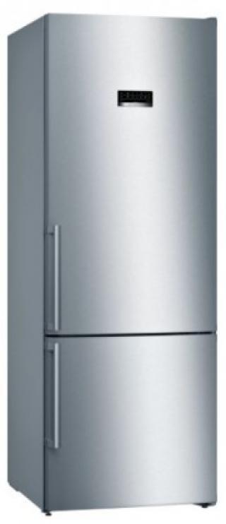 Kombinovaná lednice s mrazákem dole bosch kgn56xidp