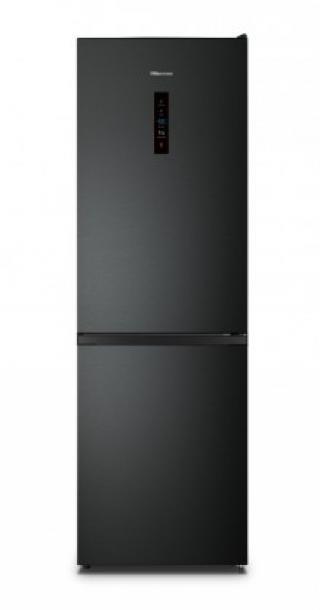 Kombinovaná lednice s mrazákem dole hisense rb390n4bfe, a