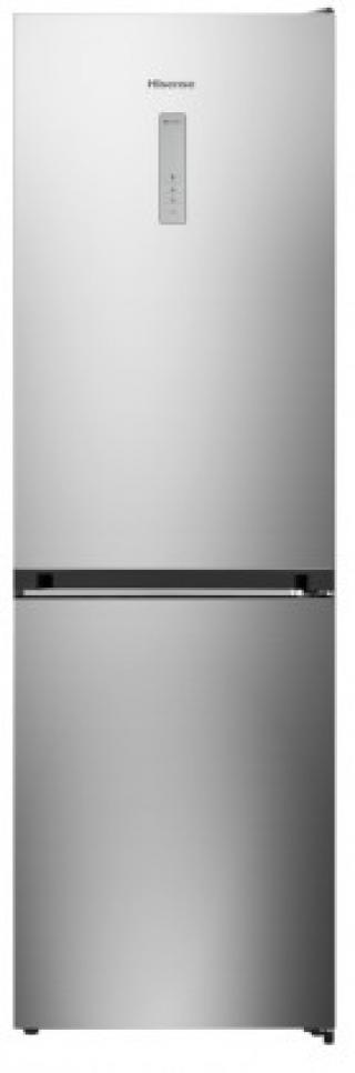 Kombinovaná lednice s mrazákem dole hisense rb438n4bc3, a